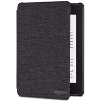 Kindle Paperwhite Water-Safe Fabric Amazon Cover (10th Gen), Black