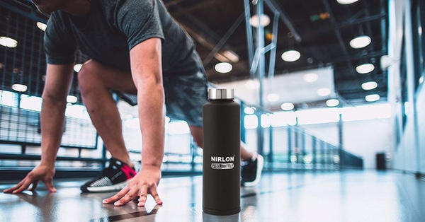 nirlon steel water bottle