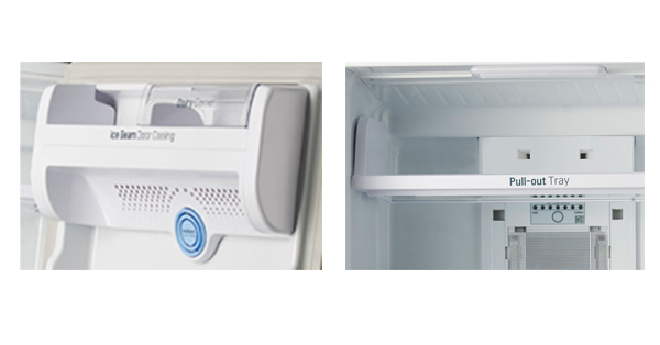 LG GL- I472QPZX Door Cooling and Pull-out Tray
